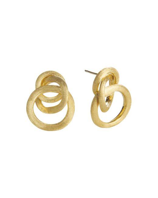 Marco Bicego - Metallic Jaipur 18k Yellow Gold Loop Earrings - Lyst