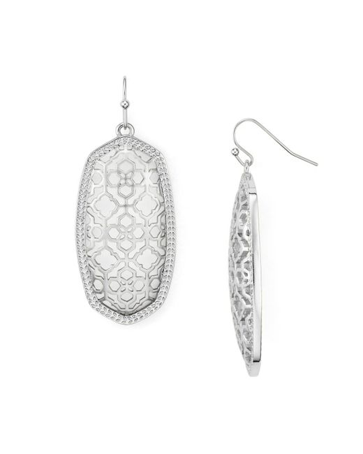 Kendra Scott | Multicolor Filigree Elle Earrings | Lyst