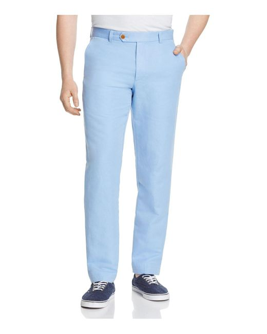 Brooks Brothers | Blue Milano Classic Fit Pants for Men | Lyst