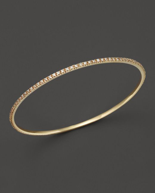 KC Designs - Metallic Diamond Bangle In 14k Yellow Gold - Lyst