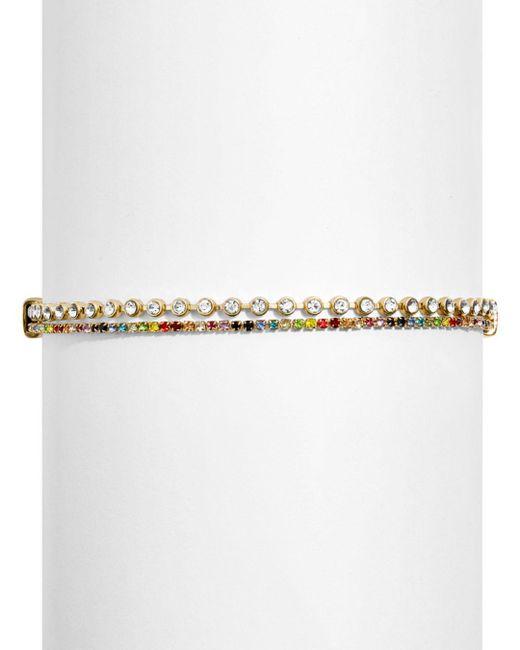 BaubleBar - Metallic Estrella Bracelet Set - Lyst