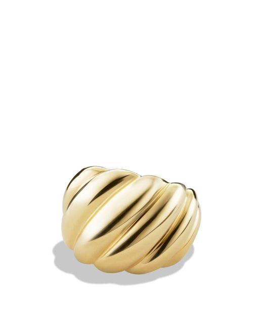 David Yurman | Metallic Hampton Cable Ring In Gold | Lyst