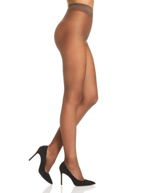 Fogal - Brown All Nude 10 Denier Tights - Lyst
