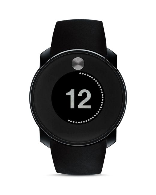 Movado Bold - Black Touch Digital Display Watch for Men - Lyst