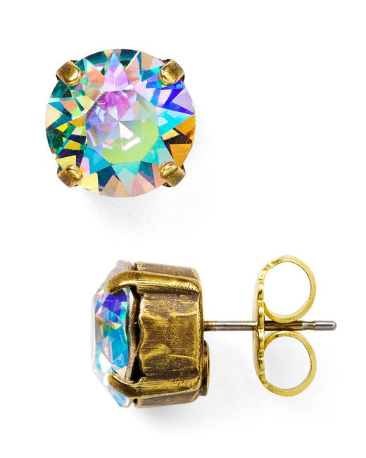 Sorrelli - Multicolor Round Stud Earrings - Lyst