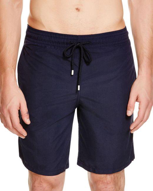 Vilebrequin - Blue Okoa Solid Swim Trunks for Men - Lyst
