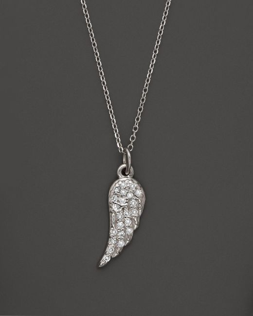 KC Designs | Diamond Wing Pendant Necklace In 14k White Gold, .07 Ct. T.w. - 100% Exclusive | Lyst