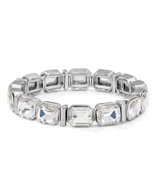 Aqua - Metallic Stretch Bracelet - Lyst