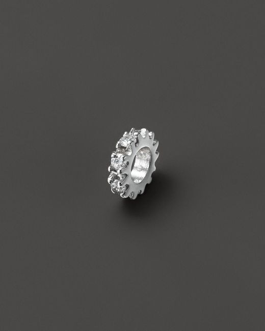 KC Designs | Diamond Pendant Spacer In 14k White Gold, .10 Ct. T.w. | Lyst