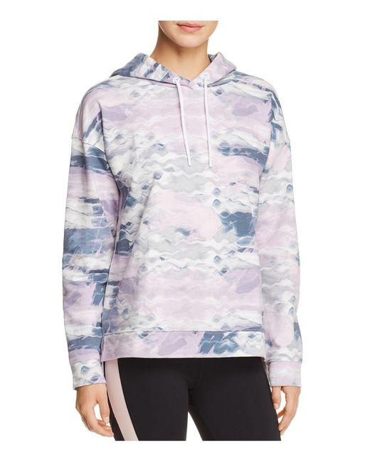 Marc New York - Multicolor Performance Watercolor Hooded Sweatshirt - Lyst