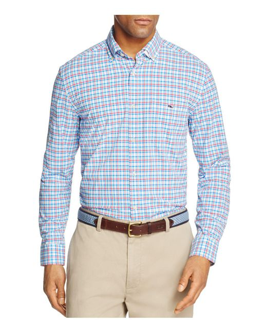 Vineyard Vines | Blue Jimson Check Tucker Classic Fit Button-down Shirt for Men | Lyst