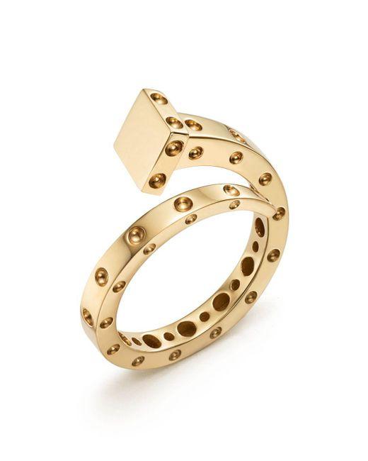Roberto Coin - Metallic 18k Yellow Gold Pois Moi Chiodo Ring - Lyst