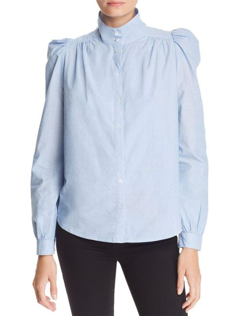 Joie - Blue Tandice Puff Shoulder Top - Lyst