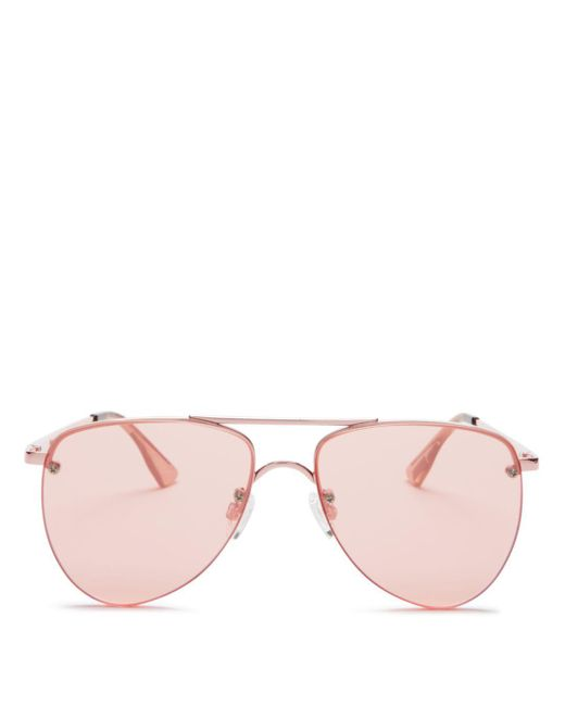 Le Specs - Pink 57mm - Lyst