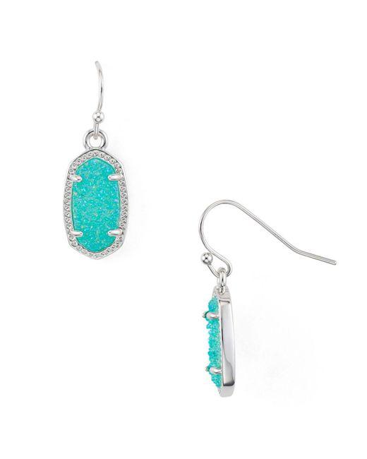 Kendra Scott - Multicolor Lee Agate Drop Earrings - Lyst