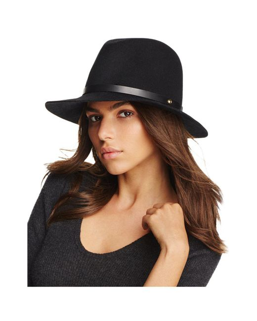Rag & Bone Black Floppy Brim Fedora