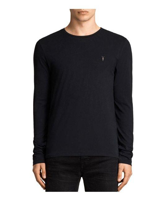 AllSaints | Black Tonic Sweater for Men | Lyst