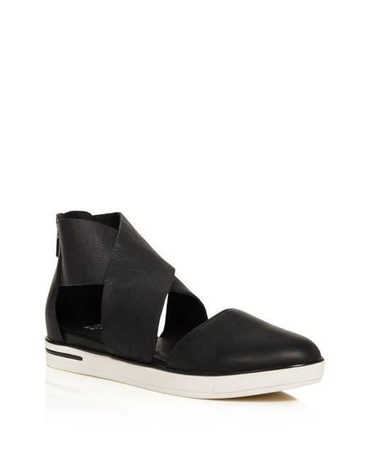 Eileen Fisher | Black Carver Two Piece Sneaker Flats | Lyst