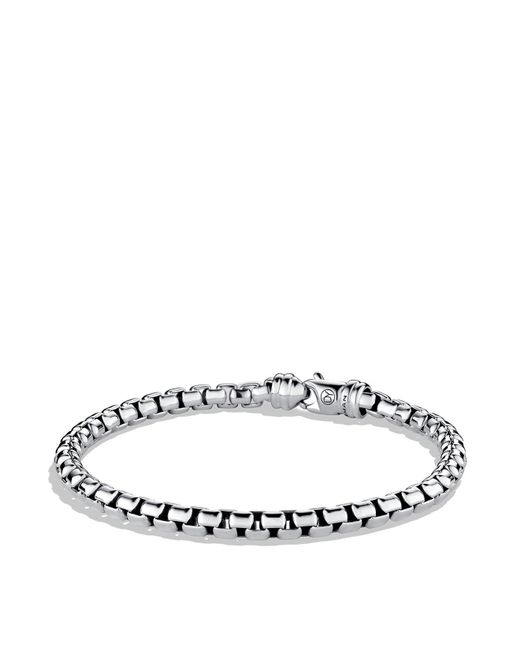 David Yurman | Metallic Large Box Chain Bracelet for Men | Lyst