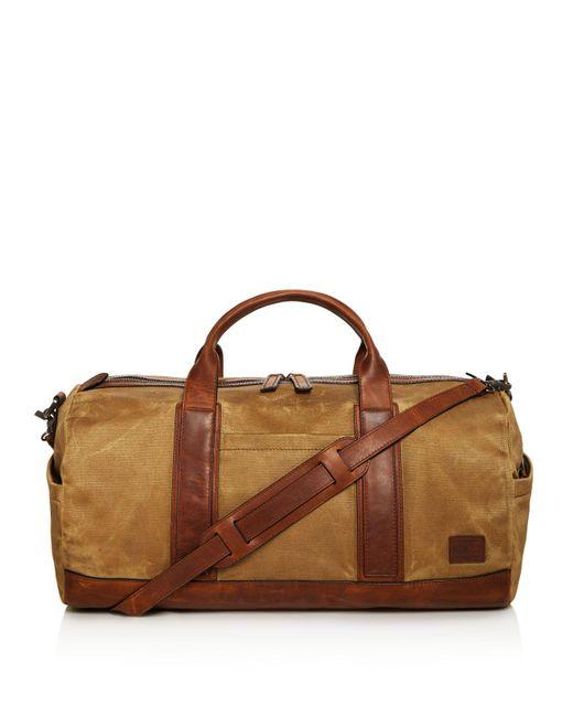 Frye | Brown Carter Duffel Bag for Men | Lyst