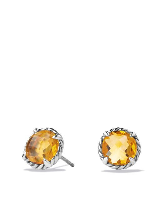 David Yurman - Yellow Châtelaine Earrings With Citrine - Lyst