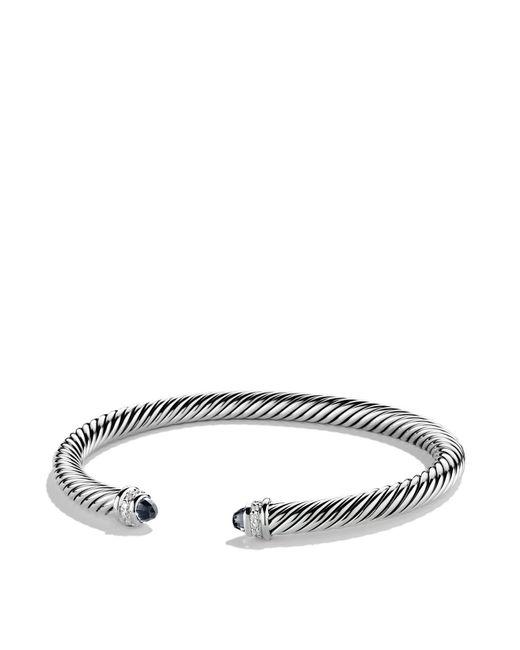 David Yurman | Cable Classics Bracelet With Black Onyx & Diamonds | Lyst