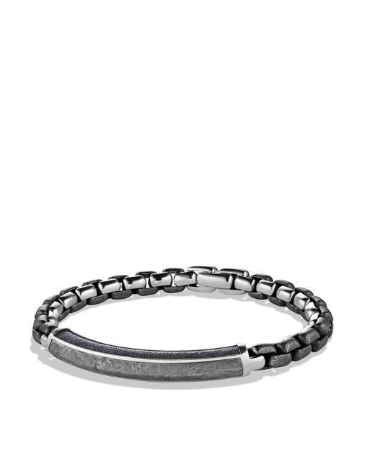 David Yurman | Metallic Meteorite Id Bracelet for Men | Lyst