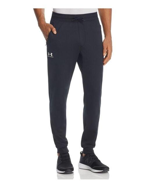 Under Armour - Black Sportstyle Jogger Pants for Men - Lyst