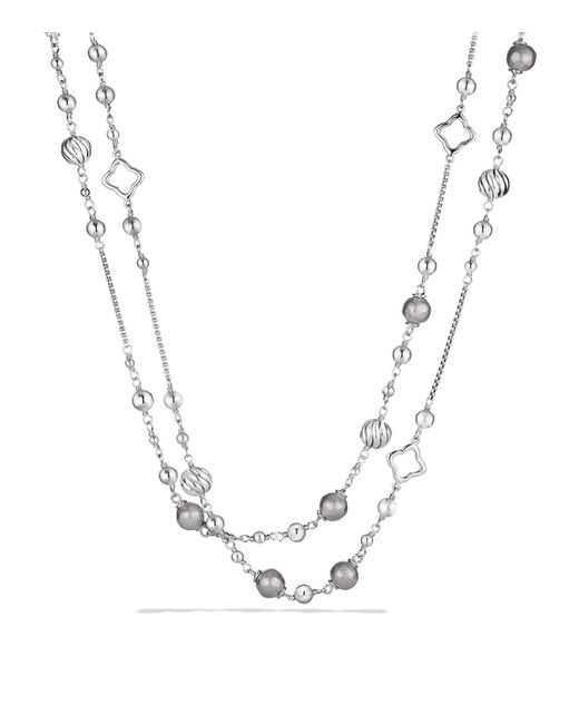 David Yurman | Metallic Dy Elements Chain Necklace | Lyst