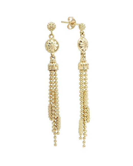 Lagos | Metallic 18k Gold Drop Earrings | Lyst
