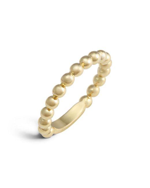 Lagos   Metallic 18k Gold Stacking Ring   Lyst