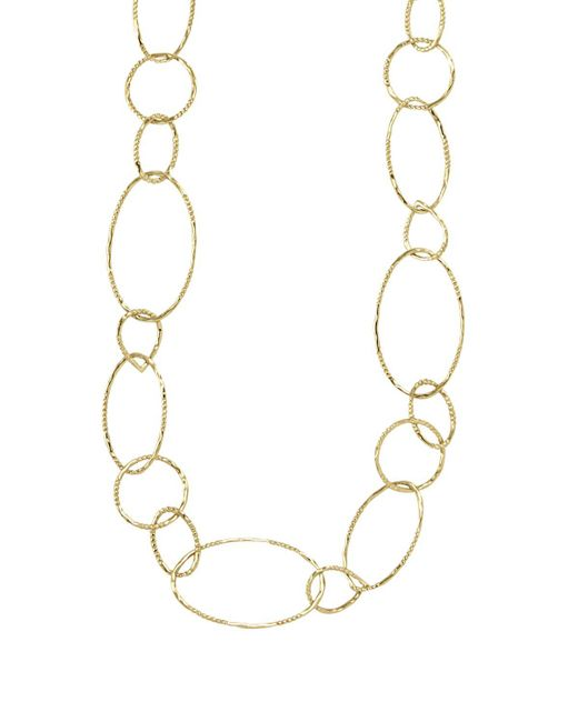 Lagos | Metallic 18k Gold Link Necklace, 24"