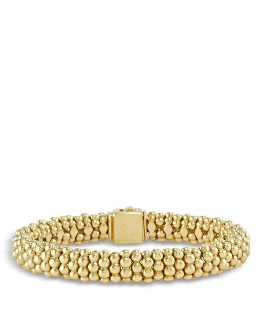 Lagos   Metallic 18k Gold Beaded Bracelet   Lyst