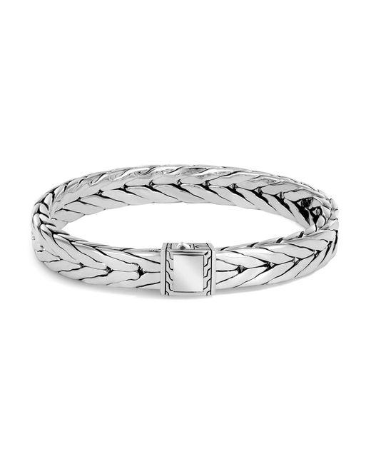 John Hardy | Metallic Men's Sterling Silver Modern Chain Bracelet | Lyst