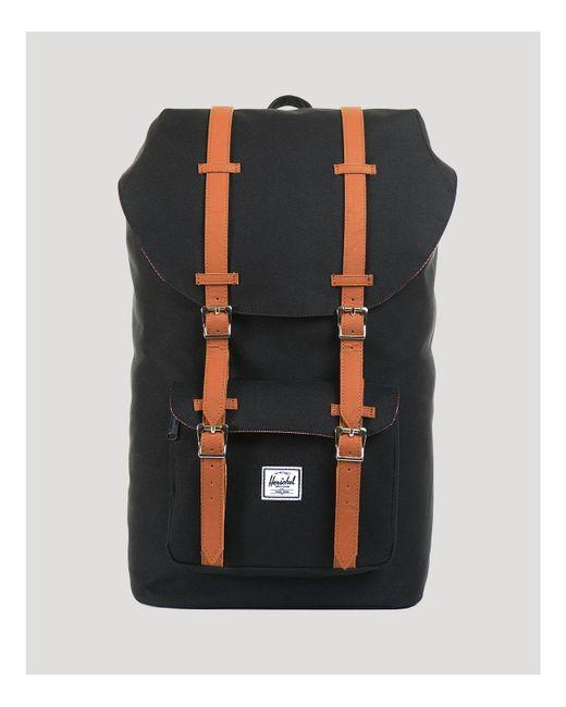 Herschel Supply Co. | Black Little America - Mid Volume Backpack for Men | Lyst