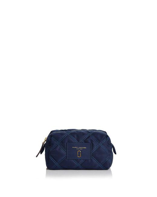 Marc Jacobs - Blue Knot Large Nylon Cosmetics Case - Lyst