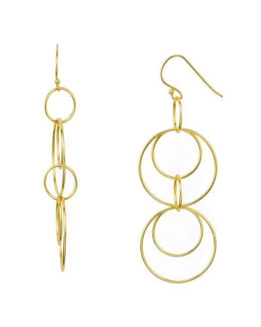 Argento Vivo - Metallic Orbital Drop Earrings - Lyst