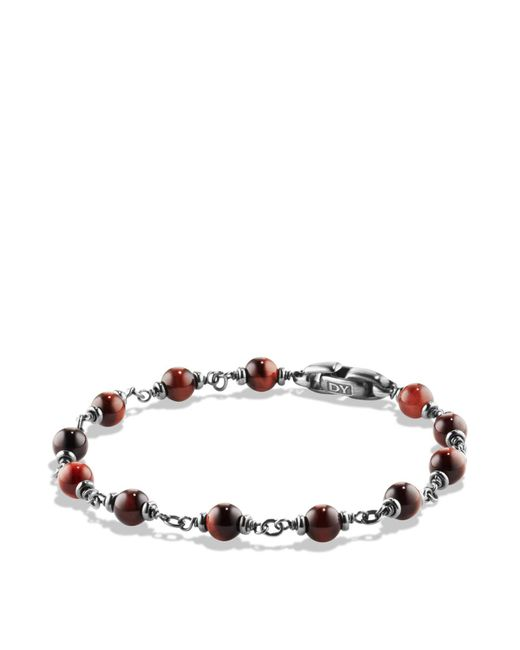 David Yurman | Spiritual Beads Rosary Bracelet In Red Tiger Eye | Lyst