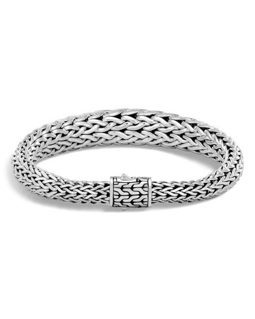 John Hardy - Metallic Sterling Silver Classic Chain Graduated Bracelet - Lyst