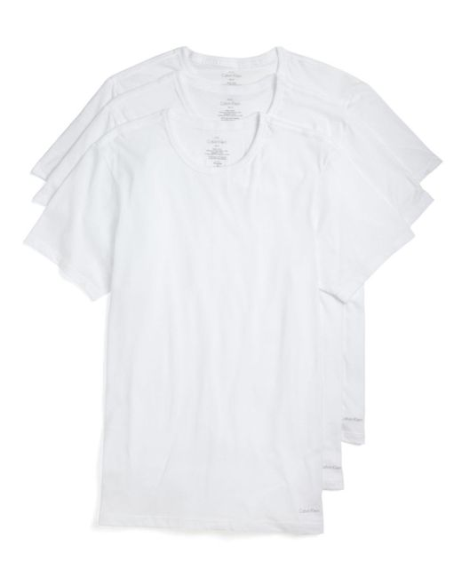 Calvin Klein - White Pack Of 3 for Men - Lyst
