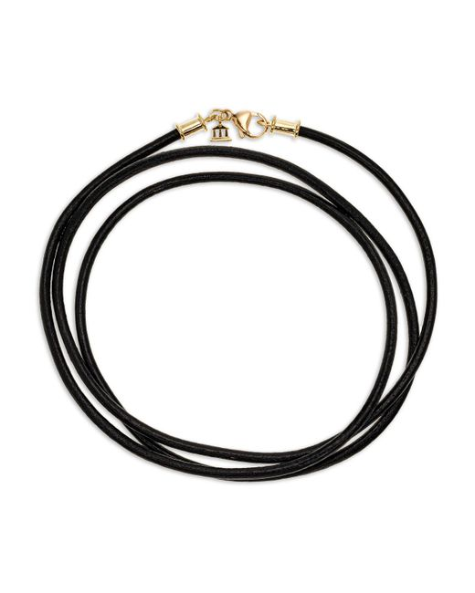 """Temple St. Clair - Gray Black Cord Necklace, 32"""" - Lyst"""