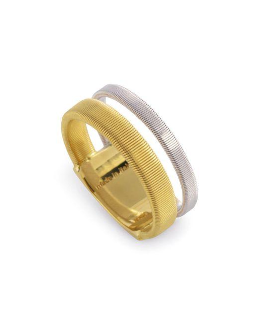 Marco Bicego | Metallic 18k Yellow & White Gold Goa Ring | Lyst
