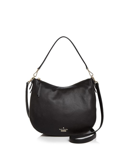 Kate Spade | Black Jackson Street Mylie Leather Shoulder Bag | Lyst