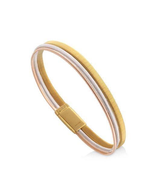 Marco Bicego - Metallic White & Rose Gold Goa Bracelet - Lyst