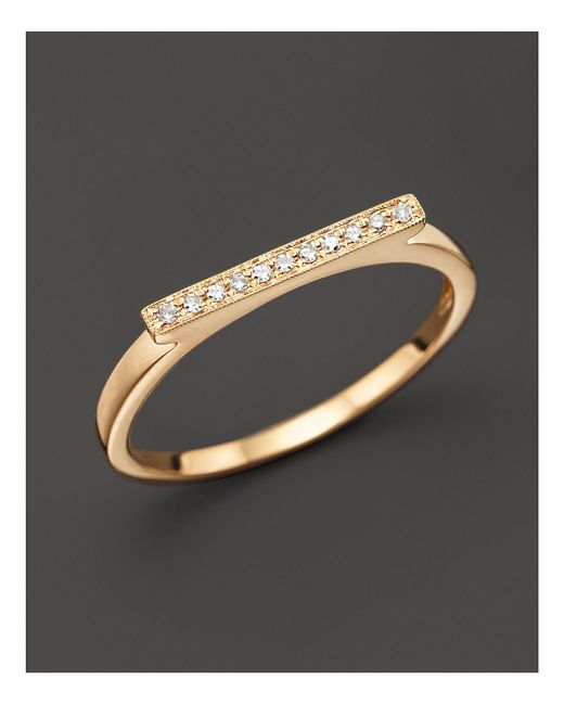 Dana Rebecca - Metallic Diamond Sylvie Rose Ring In 14k Yellow Gold - Lyst