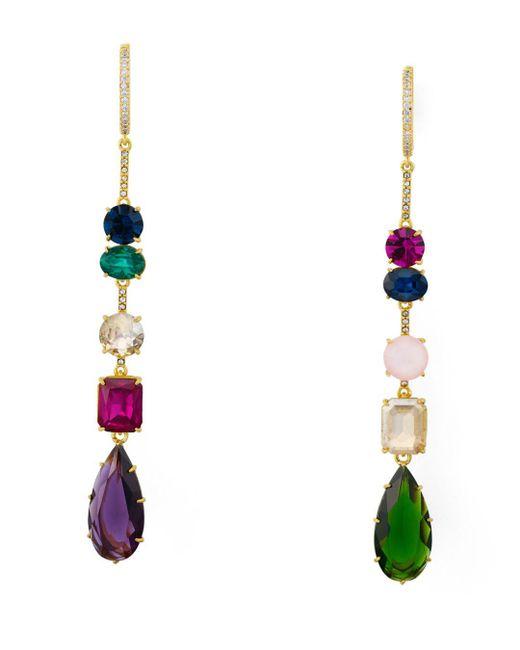 Kate Spade - Multicolor Linear Statement Earrings - Lyst