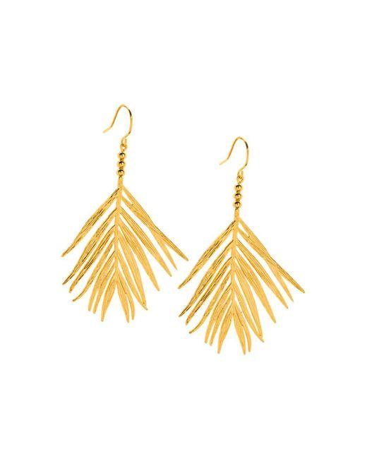 Gorjana - Metallic Palm Drop Earrings - Lyst