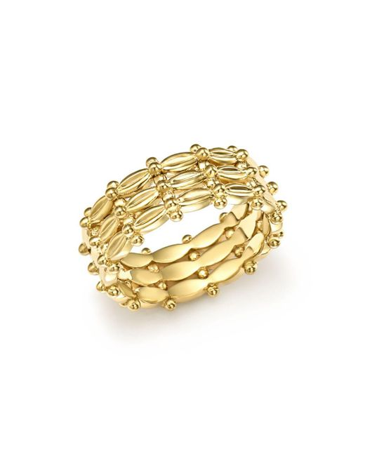 Temple St. Clair - Metallic 18k Yellow Gold Vigna Ring - Lyst