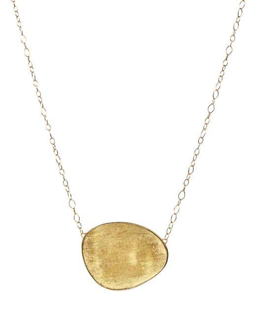 Marco Bicego - Metallic 18k Yellow Gold Lunaria Pendant Necklace - Lyst
