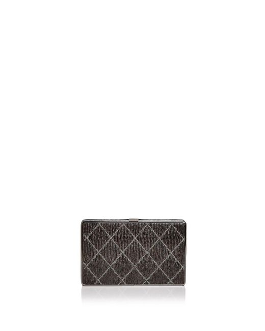 Sondra Roberts - Multicolor Quilted Leather Clutch - Lyst